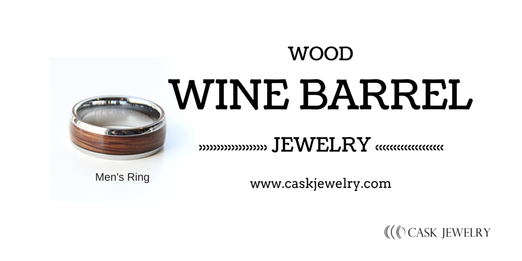 Men's Wine Barrel Jewelry