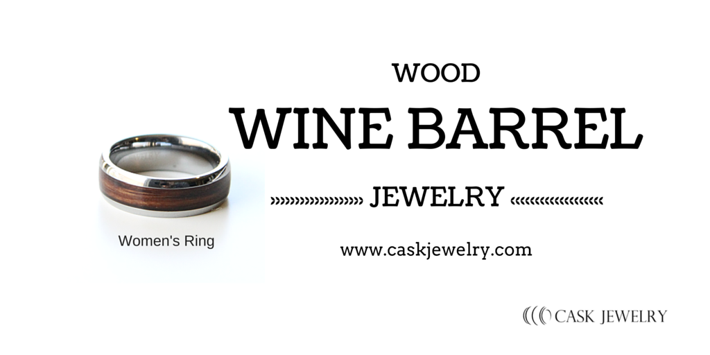 Women's Wine Barrel Ring